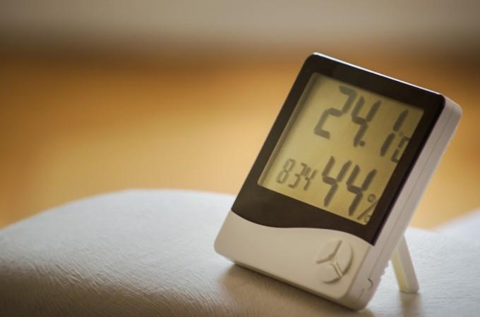 快眠方法-温湿度計