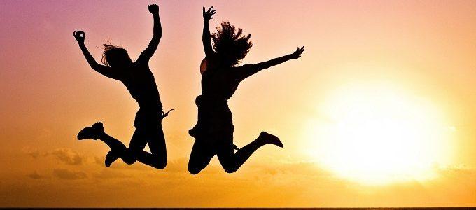快眠で喜びを感じている女性たち